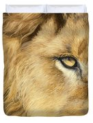 Eye Of The Lion Duvet Cover