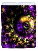 Eye Of The Swirling Dream Duvet Cover