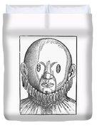 Eye Treatment, 1583 Duvet Cover
