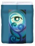 Eye Triple Koru Duvet Cover