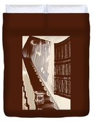 Eyes At The Top Of The Stairs Duvet Cover