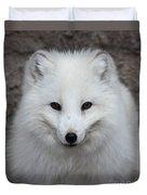 Eyes Of The Arctic Fox Duvet Cover