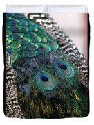 Eyes On My Back Duvet Cover