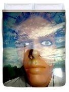 Eyes On The Horizon Duvet Cover