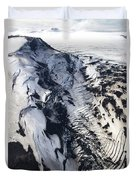 Eyjafjallajokull And The Glacier Duvet Cover