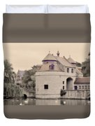 Ezelport City Gate In Bruges Duvet Cover