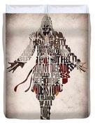 Ezio Auditore Da Firenze From Assassin's Creed 2  Duvet Cover