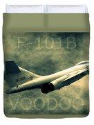 F-101b Voodoo Duvet Cover