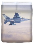 F-16 Fighting Falcon Duvet Cover