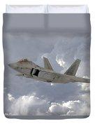 F-22 Raptor Duvet Cover