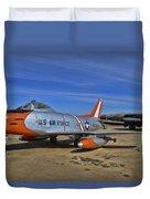 F-86h Sabre Duvet Cover