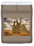 F. Schott Stone Barn  Duvet Cover