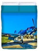 F4u Corsair My Marines Dream  Duvet Cover