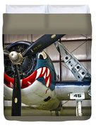 F6f Hellcat Duvet Cover by Dale Jackson