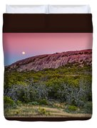F8 And Be There - Enchanted Rock Texas Hill Country Duvet Cover