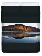 Fabulous Fjord Landscape Of Norway Duvet Cover