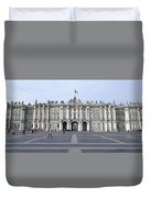 Facade Of A Museum, State Hermitage Duvet Cover