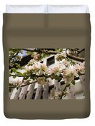 Facades And Fruit Trees Duvet Cover