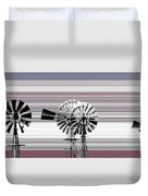 Face To The Wind Duvet Cover