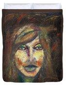 Faces 18 Duvet Cover