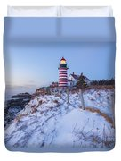 Facing East  Duvet Cover