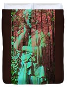 Fade Into The Woods Duvet Cover