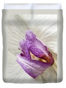 Faded Beauty Duvet Cover