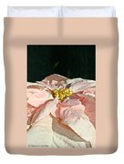 Faded Coral Duvet Cover