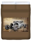 Faded Ford Coupe Duvet Cover