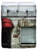 Fading Facade Duvet Cover