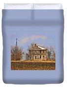 Fading Farm Duvet Cover by Marty Koch