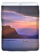 Fading Of The Light Duvet Cover by Edmund Nagele
