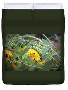 Fading Sunflower Duvet Cover