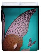 Faerie And Butterfly Duvet Cover
