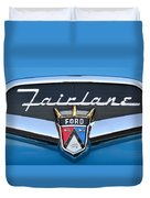Fairlane Name Plate Duvet Cover