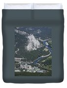 Fairmont Banff Springs Hotel And Golf Course Duvet Cover