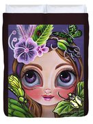 Fairy Of The Insects Duvet Cover