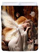 Fairy Of The Key Duvet Cover