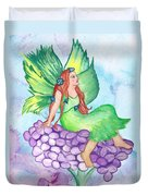 Fairy On Lilac Duvet Cover