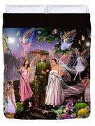 Fairy Wedding Duvet Cover