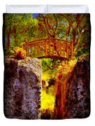 Fairytale Bridge Duvet Cover