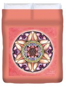 Faith Mandala Duvet Cover