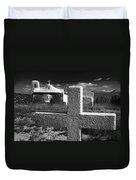 Faith - New Mexico  Duvet Cover
