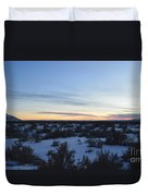 Fajada Sunset Duvet Cover