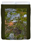 Fall And Moss Duvet Cover