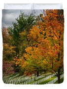 Fall Arlington National Cemetery  Duvet Cover