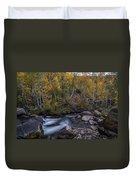 Fall At Bishop Creek Duvet Cover