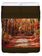 Fall At Cheesequake Duvet Cover