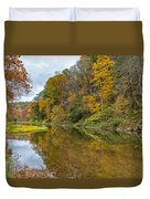 Fall At Little Beaver Creek Duvet Cover