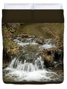 Fall At The Lower Falls Duvet Cover